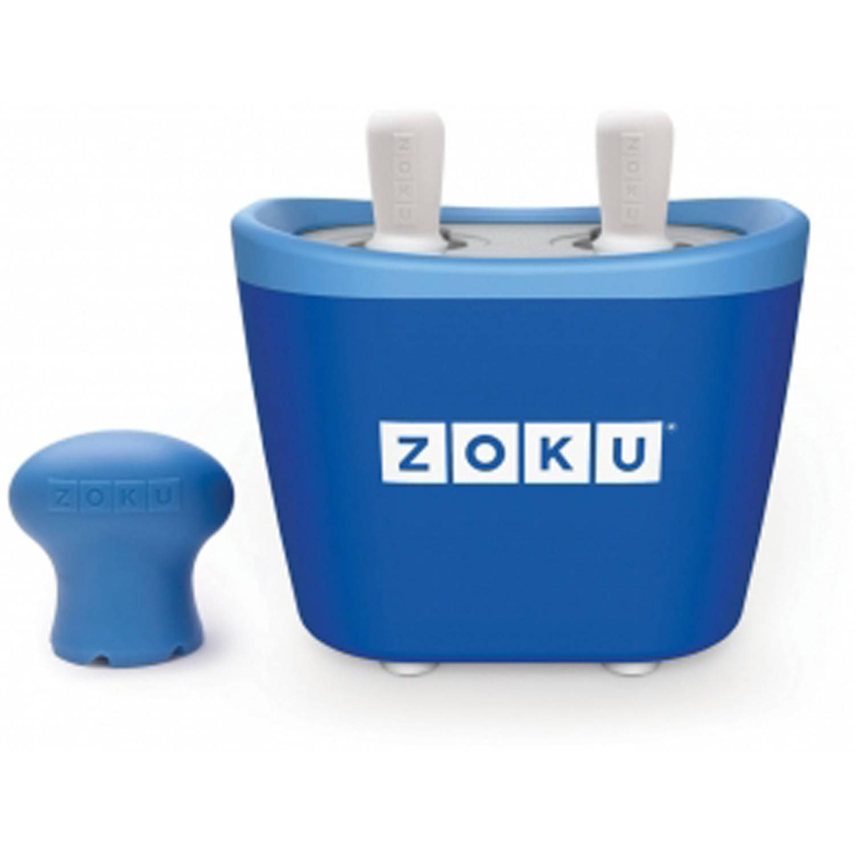 Zoku Duo Quick Pop Maker Blauw