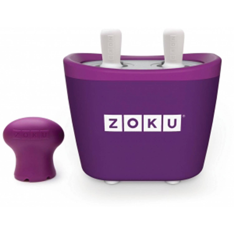 Zoku Duo Quick Pop Maker Paars