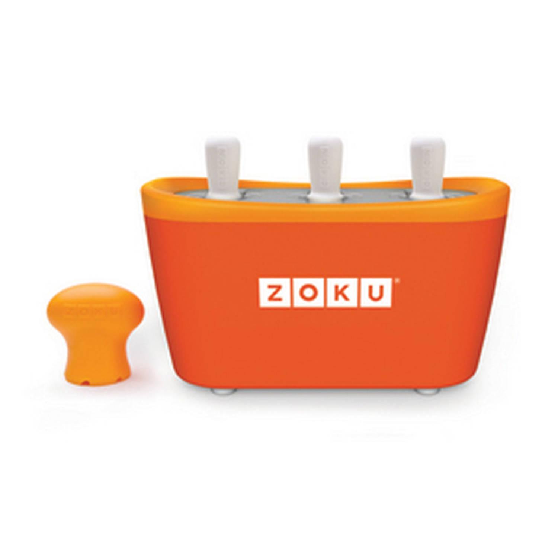 Zoku Trio Quick Pop Maker Oranje