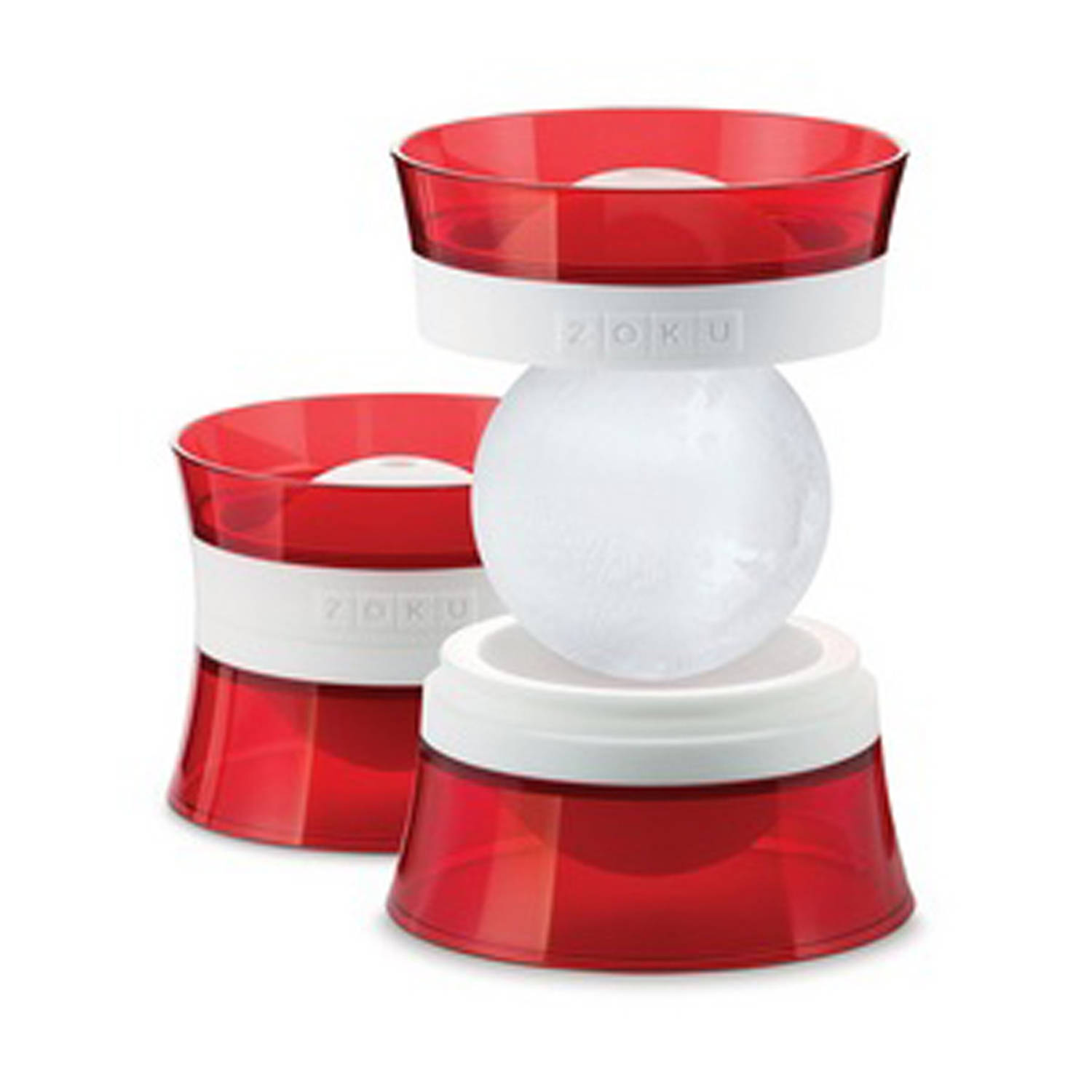 Zoku Quick Pop Maker, Ice Ball maker 2 stuks