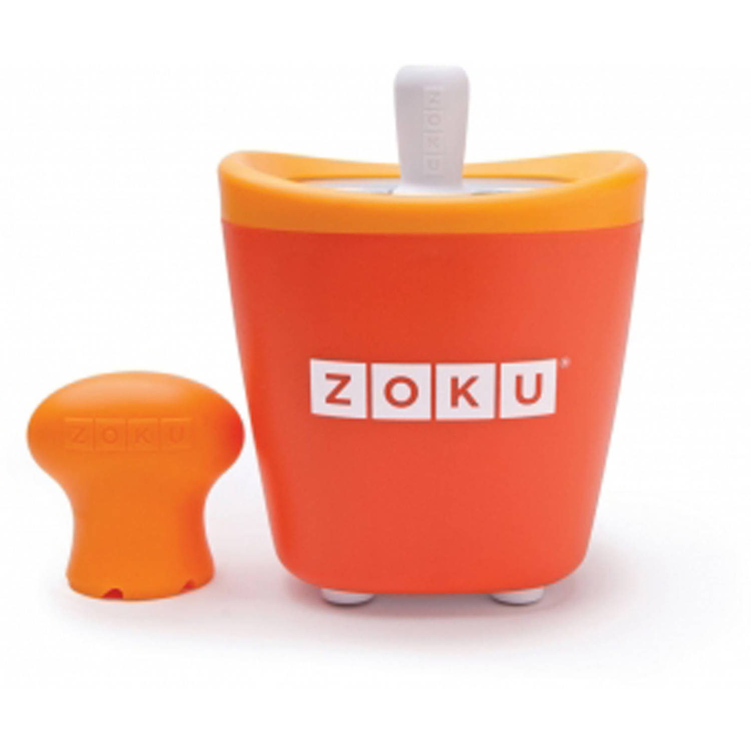 Zoku Single Quick Pop Maker Oranje
