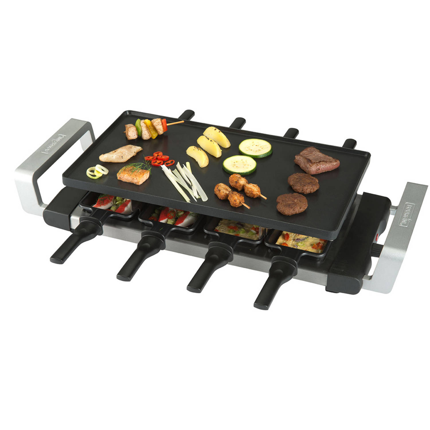 Bourgini gourmette/raclette/grill 16.1010
