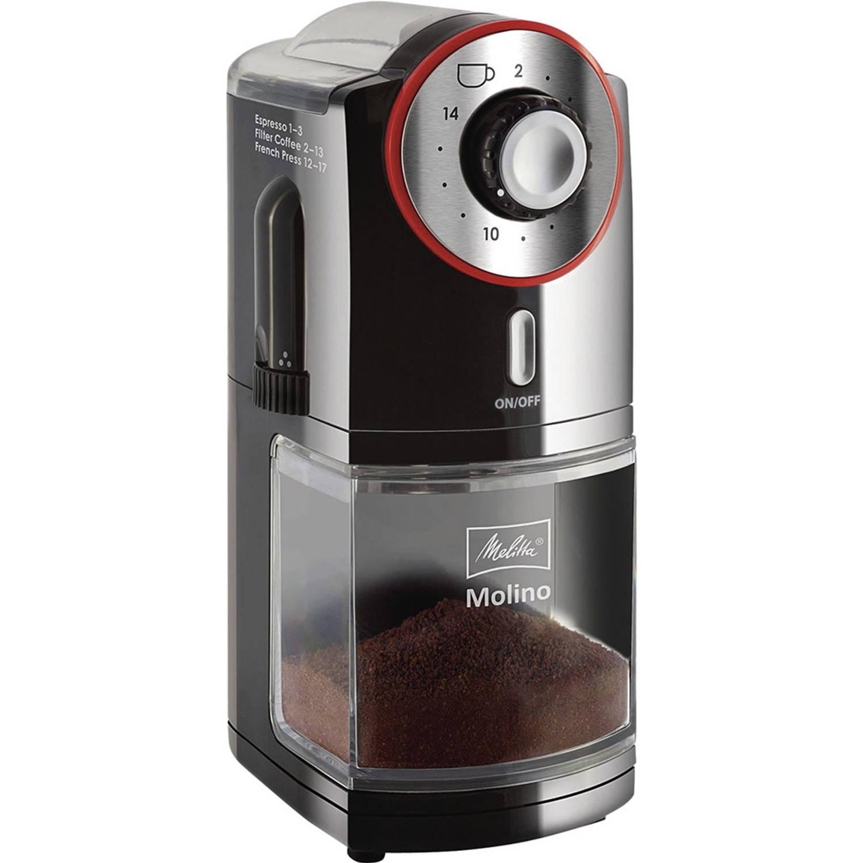 Korting Melitta elektrische koffiemolen Molino