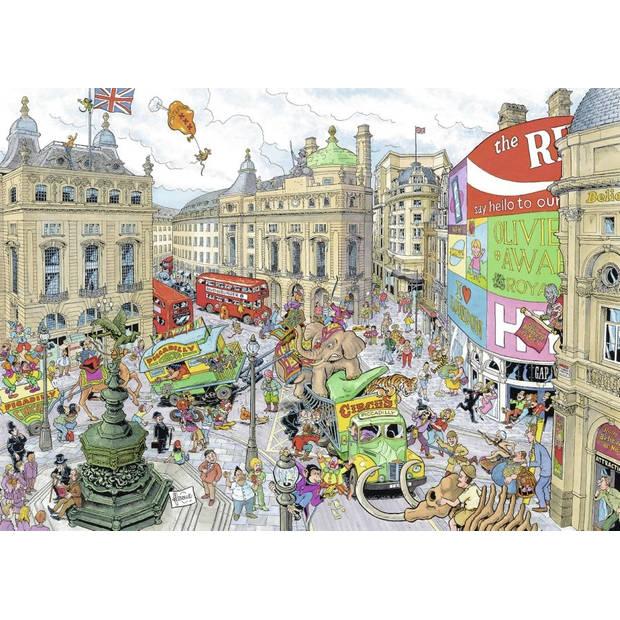 Ravensburger puzzel Fleroux London - 1000 stukjes