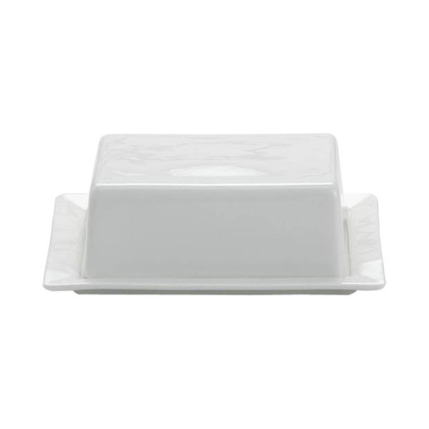 Maxwell and Williams White Basics botervloot - 16 x 13 cm