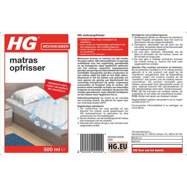 HG Aircare matrasopfrisser