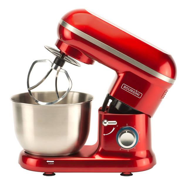 Bourgini keukenmachine Classic Kitchen Chef - rood