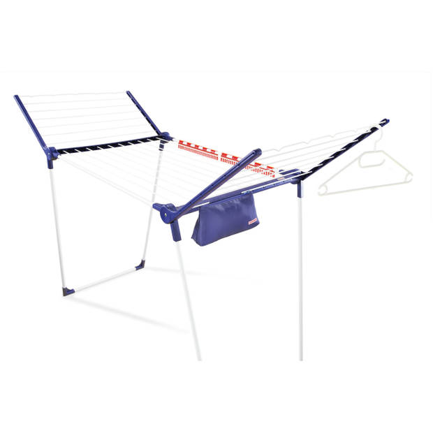 Leifheit - Droogrek Pegasus 200 Solid Comfort – 20 m drooglengte