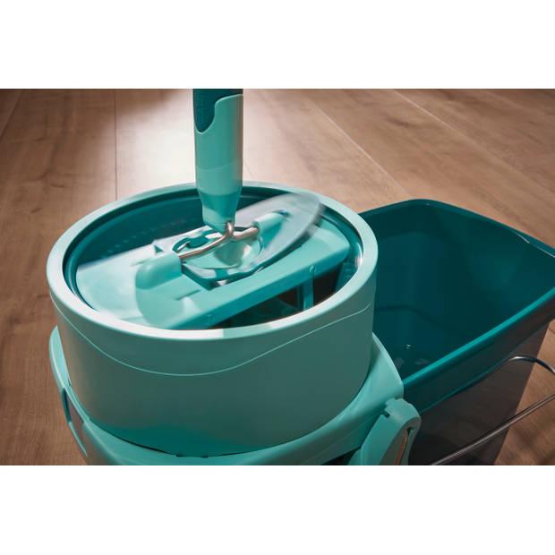 Leifheit Set Clean Twist System XL – 42 cm – met wieltjes - compleet systeem – Click System