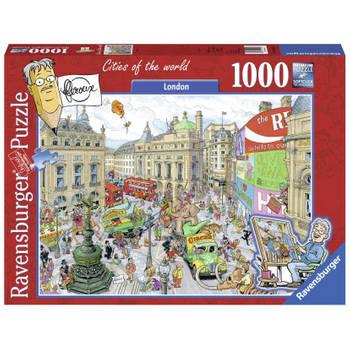 -Ravensburger puzzel Fleroux London - 1000 stukjes-aanbieding