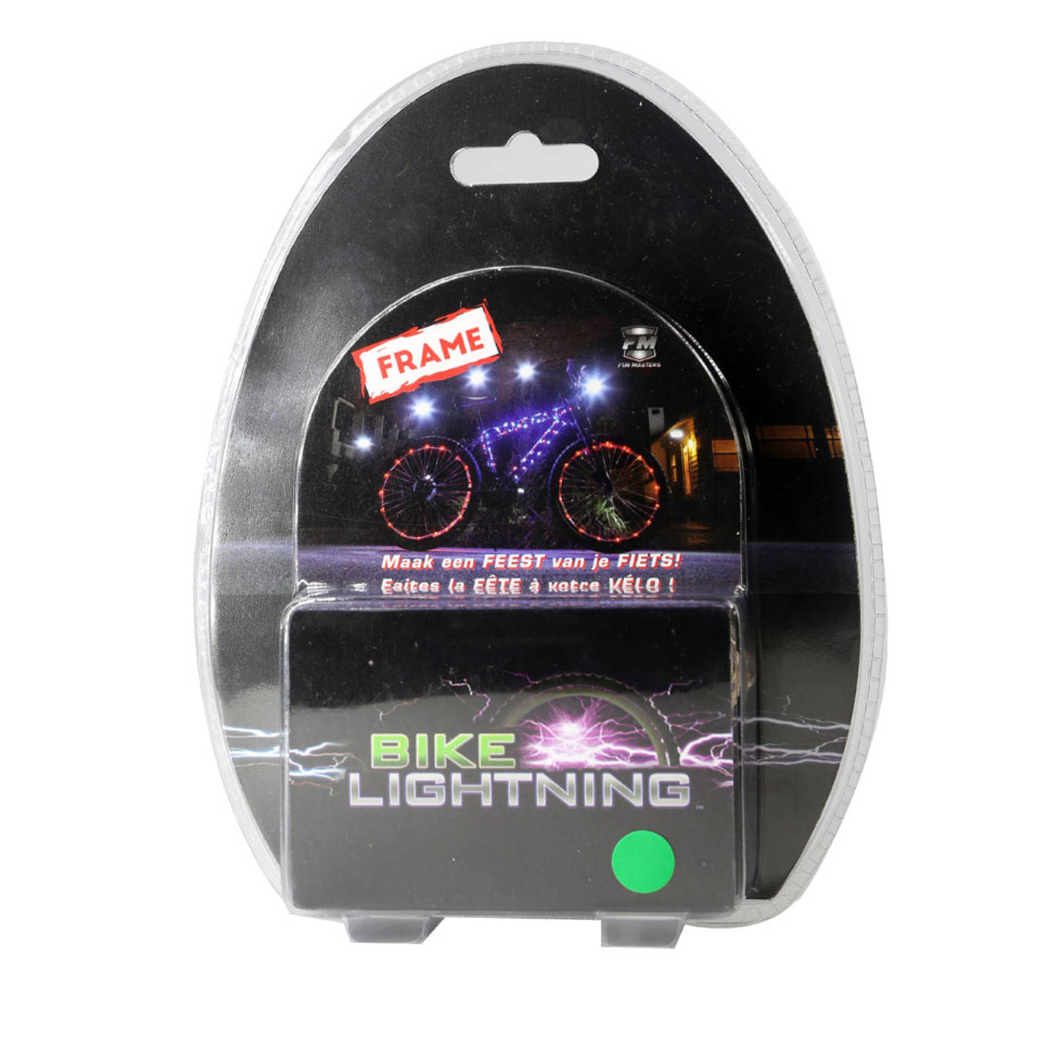 bike lightning voor frame