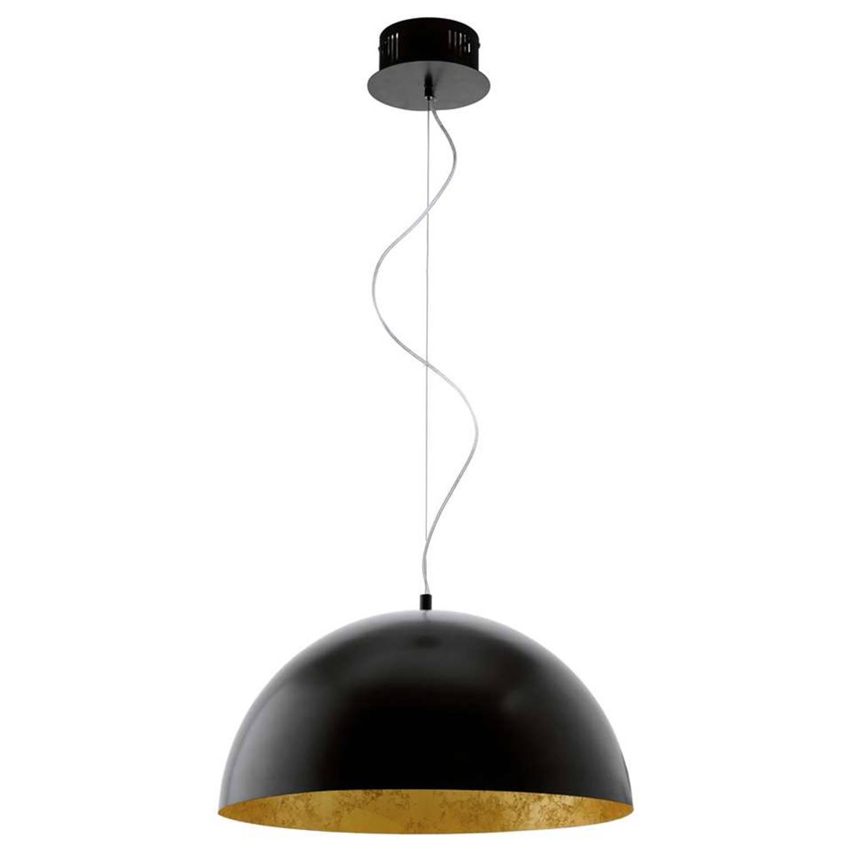 EGLO LED hanglamp Gaetano - zwart