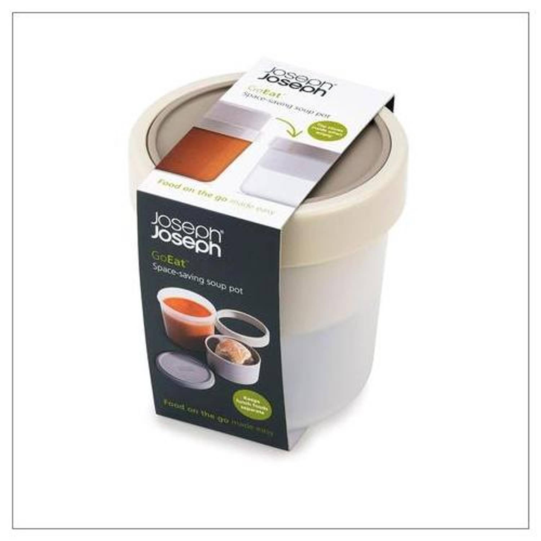 GoEat compacte soepbox 2 in 1 - Grijs - Joseph Joseph