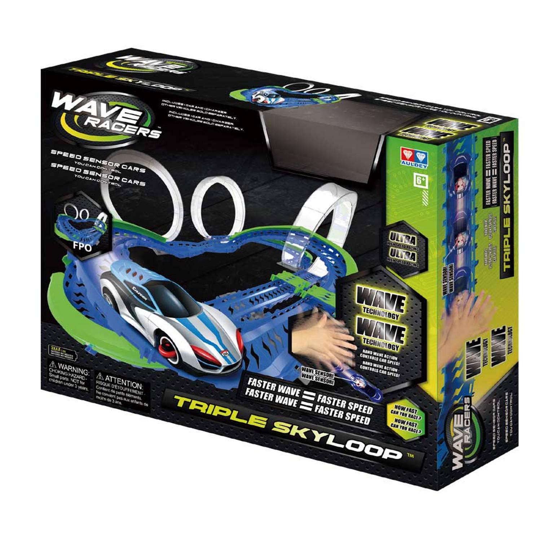 Afbeelding van Wave Racers racebaan speelset Triple Sky Loop