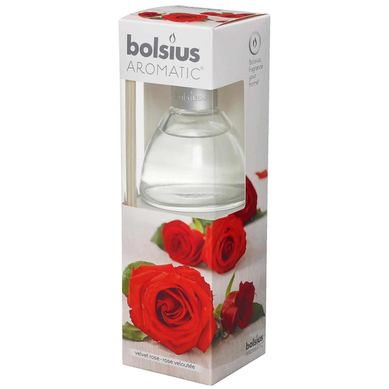 Bolsius geurstokjes 120ml velvet rose