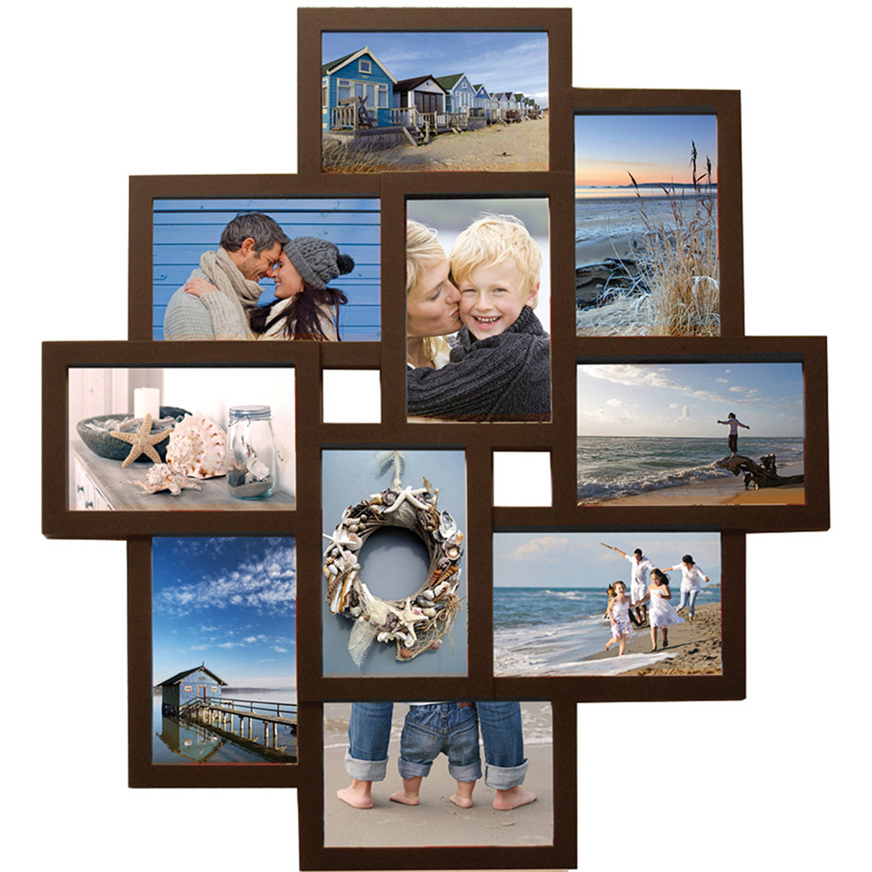 Henzo fotolijst Holiday Gallery 10 - 50 x 55 cm - bruin