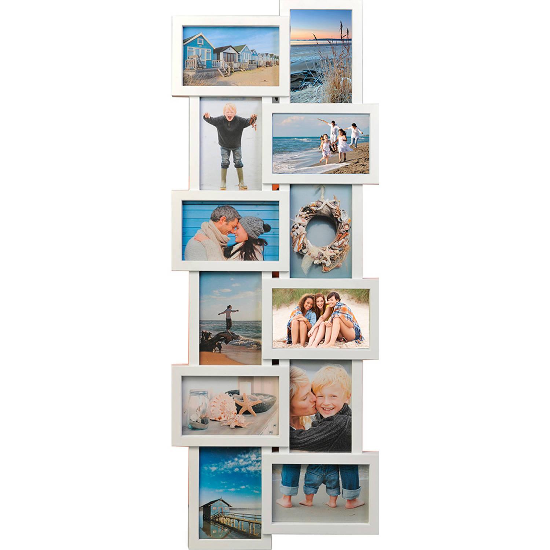 Henzo fotolijst Holiday Gallery 12 - 32 x 83 cm - wit