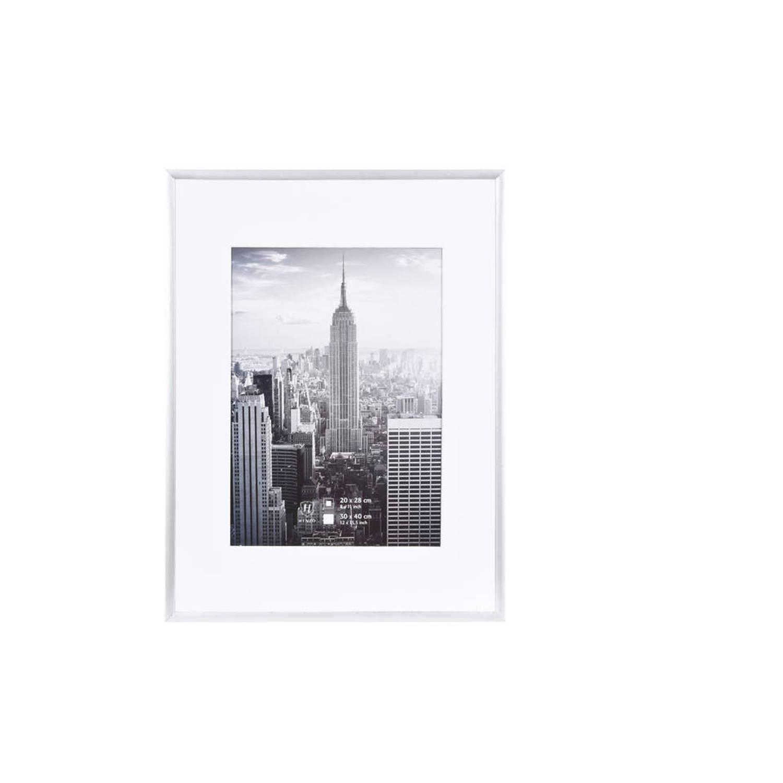 Henzo fotolijst Manhattan - 30 x 40 cm - zilverkleurig