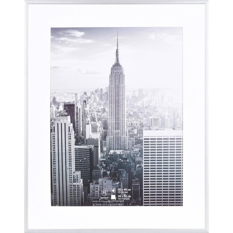 Henzo fotolijst Manhattan - 40 x 50 cm - zilverkleurig