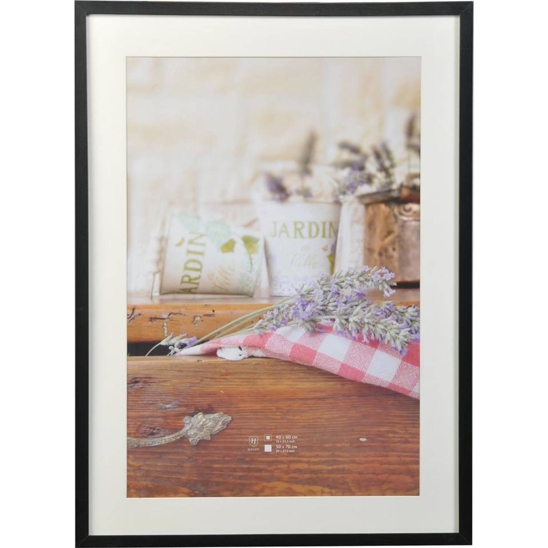Henzo fotolijst jardin 50 x 70 cm zwart blokker - Badspiegel 50 x 70 ...