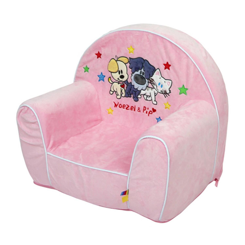 Woezel u pip stoeltje roze with stoel voor kind for Stoel kind ikea