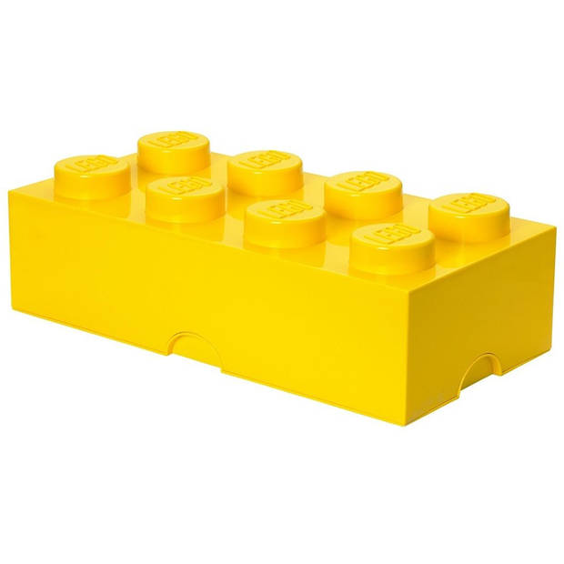 LEGO Brick 8 opbergbox - geel