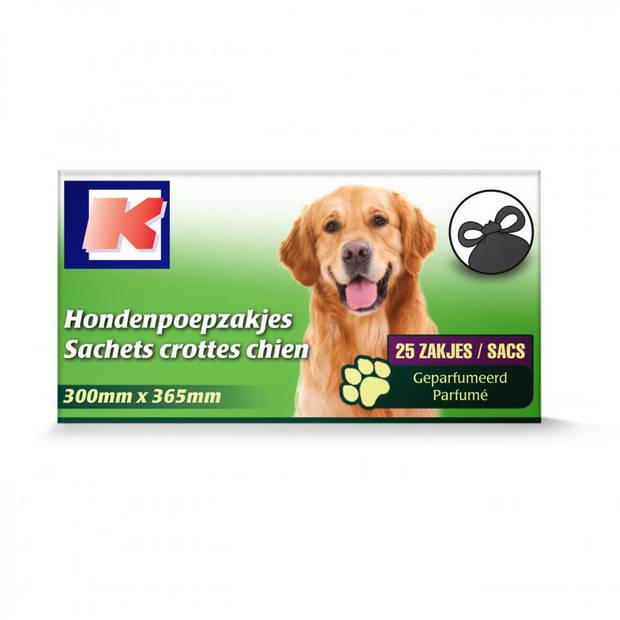 K hondenpoepzakjes - 25 stuks