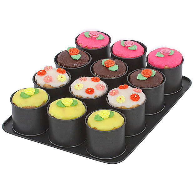 Zenker 12 dessert/ taartjesbakvorm - Ø 8,5 cm