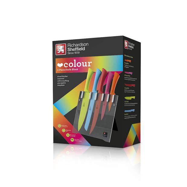 Richardson Sheffield - Love Colour Original - messenblok - 5-delig - multicolor