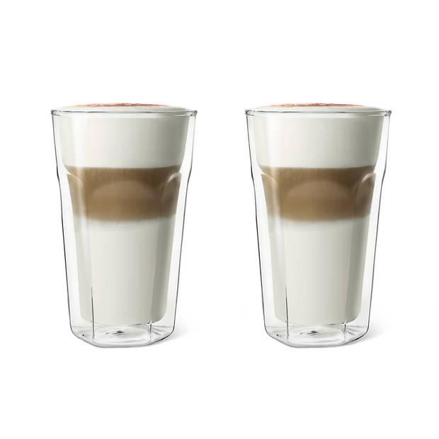 Leopold Vienna dubbelwandige latte macchiatoglazen - 35 cl - 2 stuks