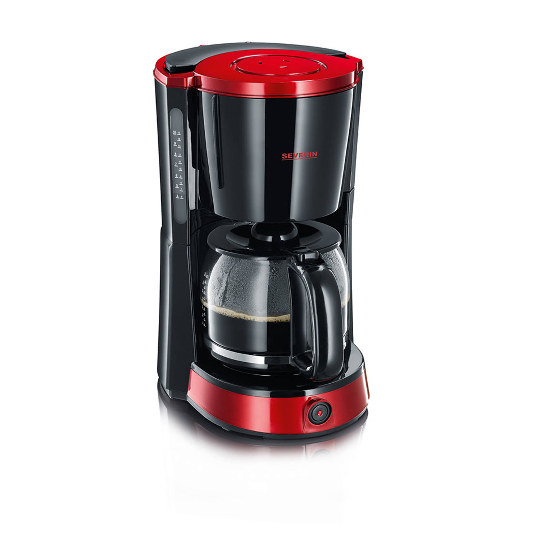 Severin koffiezetapparaat Select KA 4492