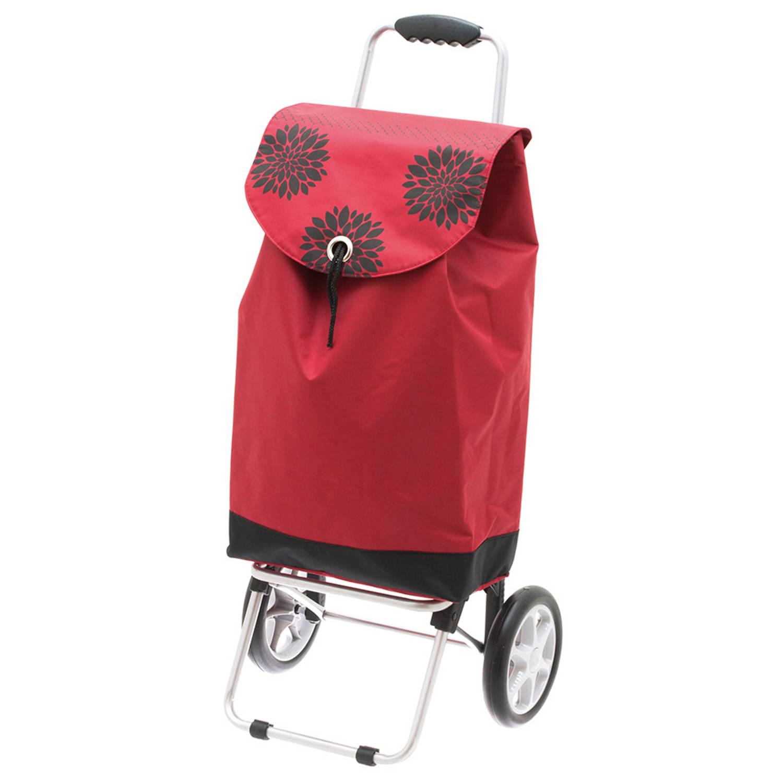 Tomado Adela�de boodschappentrolley rood