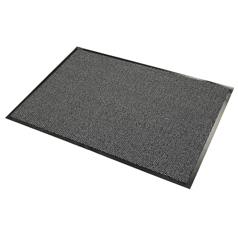schoonloopmat 80 x 120 cm grijs blokker. Black Bedroom Furniture Sets. Home Design Ideas
