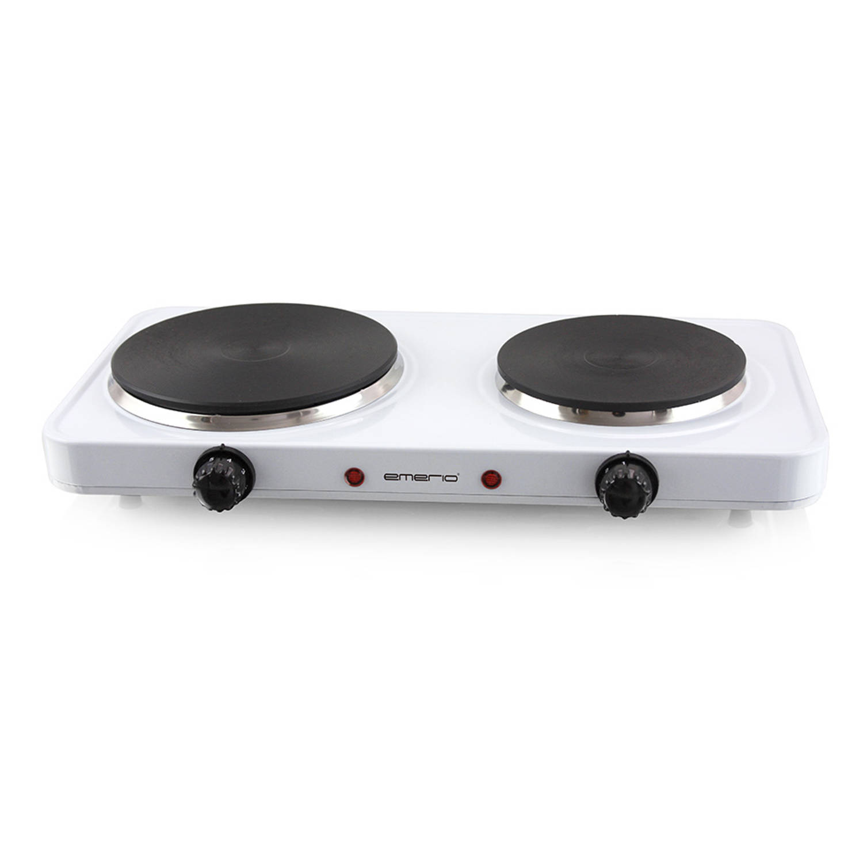 Emerio 2-pits kookplaat HP-109090.4