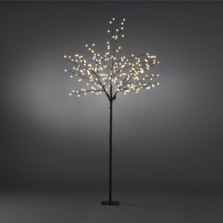 LED lichtboom bruin 250cm