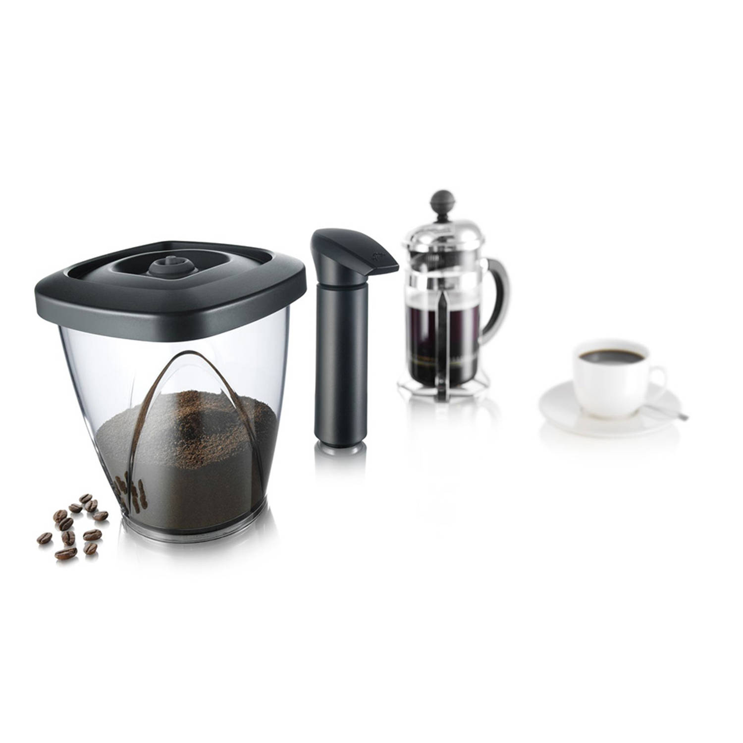 Tomorrow's Kitchen vacuum coffee saver - 1,3 L - 500 g