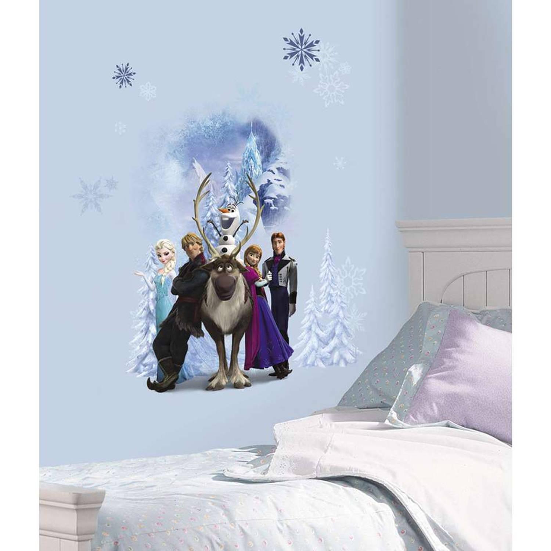 Roommates Muursticker - Disney - Frozen Winter Burst