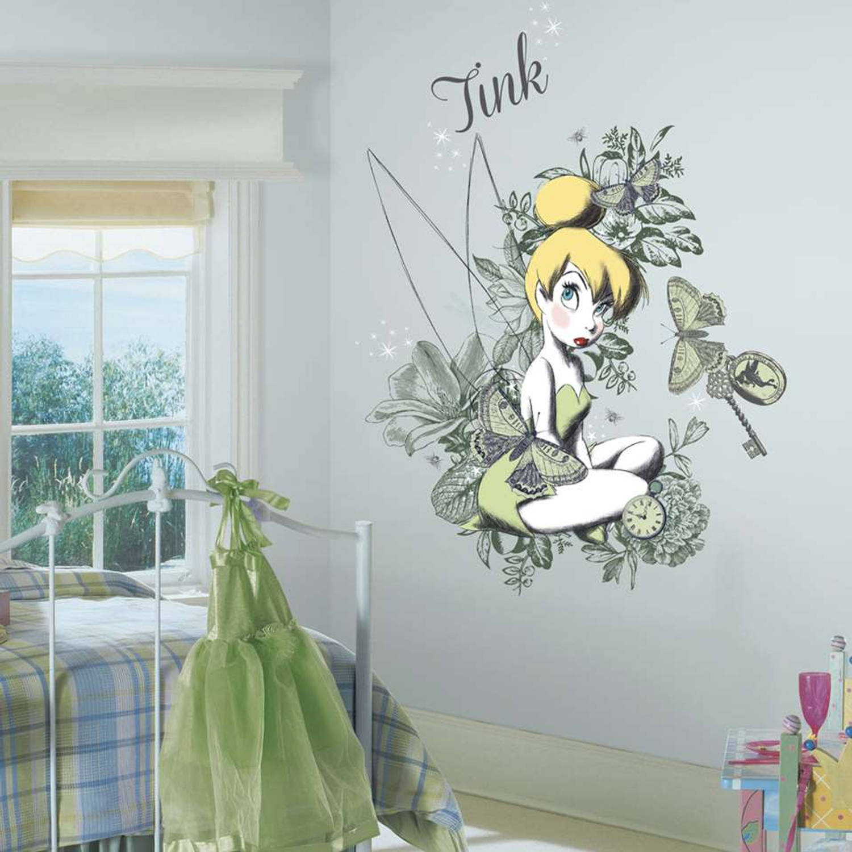 Roommates Muursticker - Disney - Vintage Tinker Bell