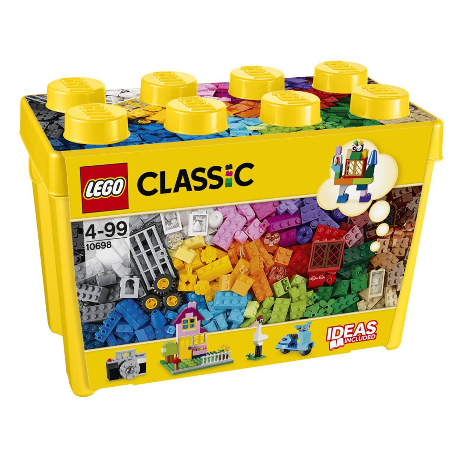 Korting LEGO Classic Grote opbergdoos 10698