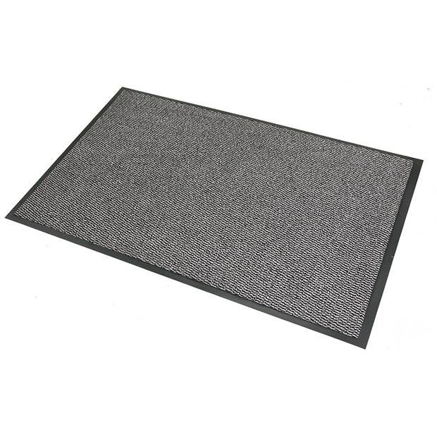 Schoonloopmat - 90 x 150 cm - grijs