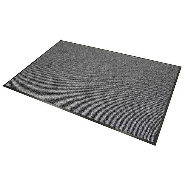 Schoonloopmat - 120 x 180 cm - grijs
