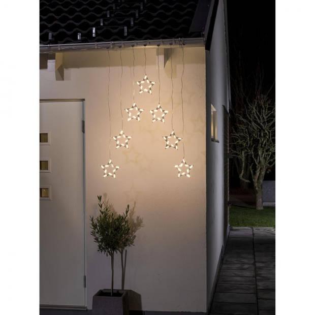 Konstsmide sterren lichtgordijn - 70 lampjes - LED