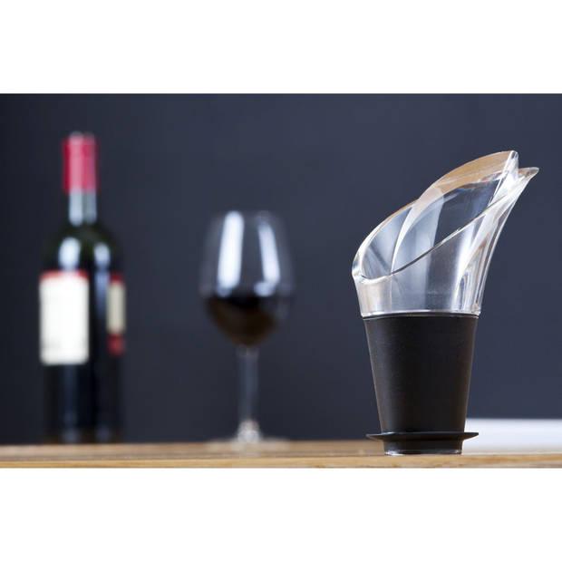 Vacu Vin Giftset wijn saver - zwart
