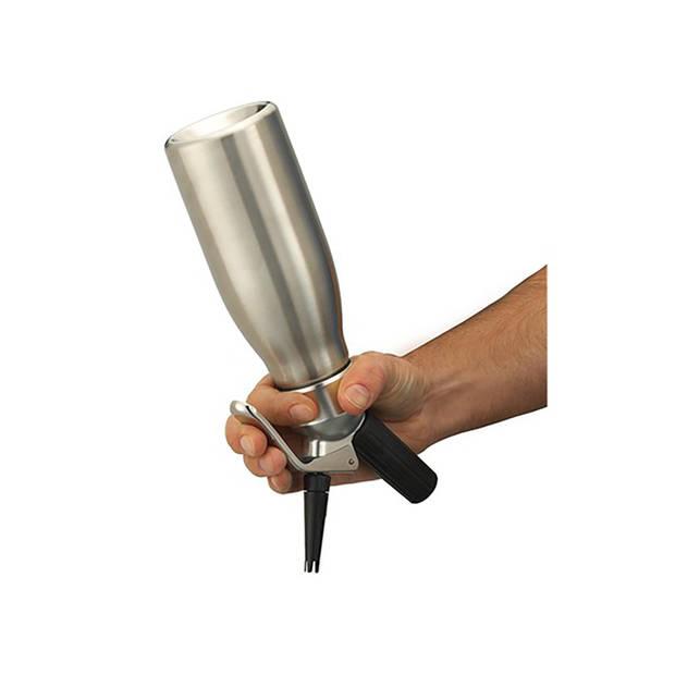 Kayser professionele slagroomspuit Inoxcreamer - 0,5 l
