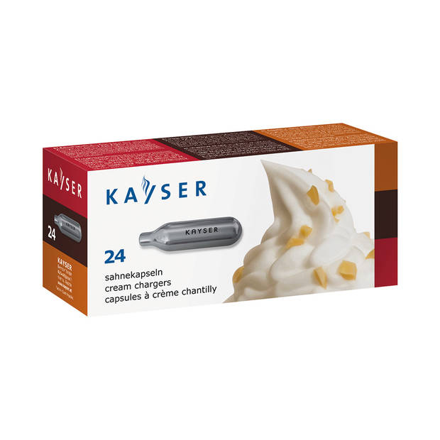 Kayser 24 patronen voor slagroomspuit