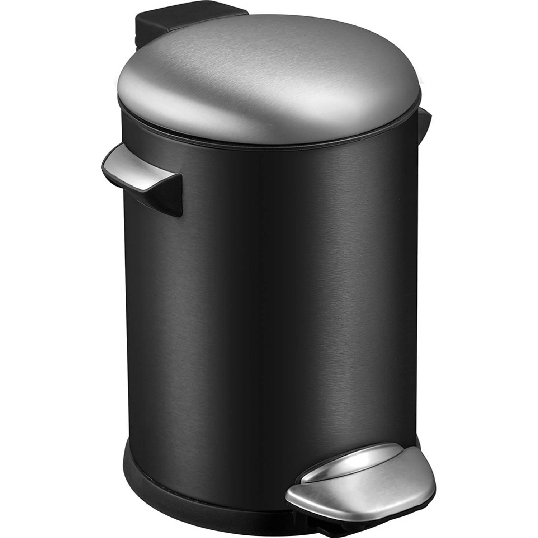 EKO Belle Deluxe pedaalemmer 5 l - zwart