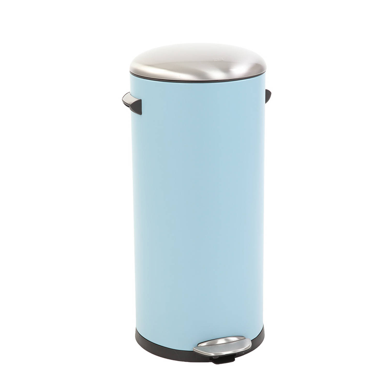EKO Belle Deluxe pedaalemmer - 30 l - sandcoated blue
