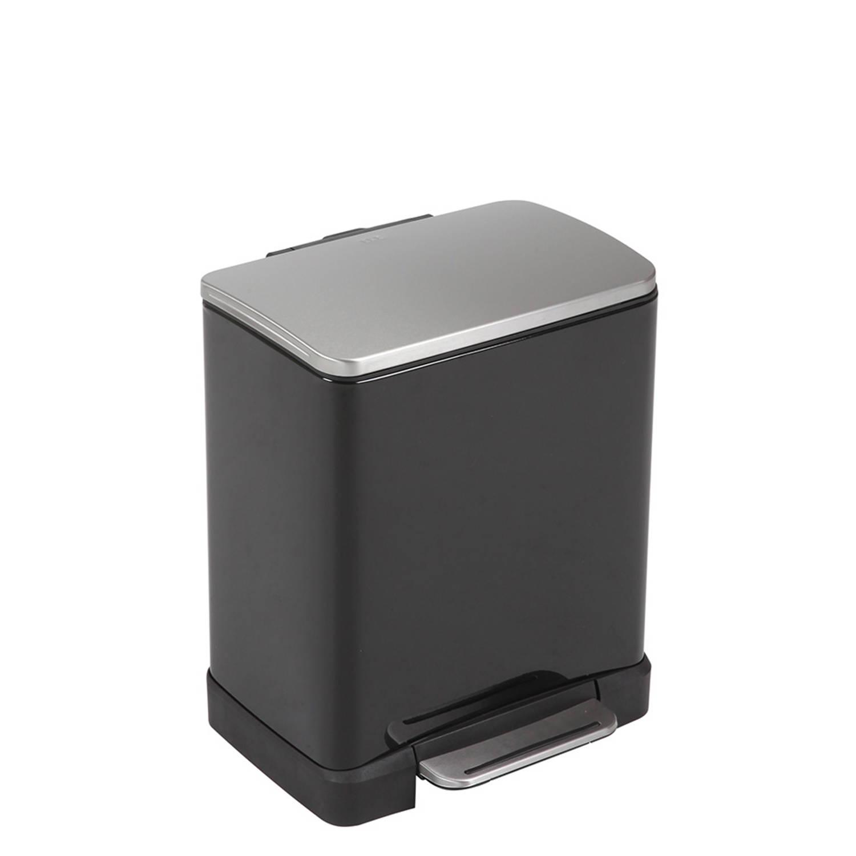 EKO E-Cube pedaalemmer afvalscheider 10 9L zwart