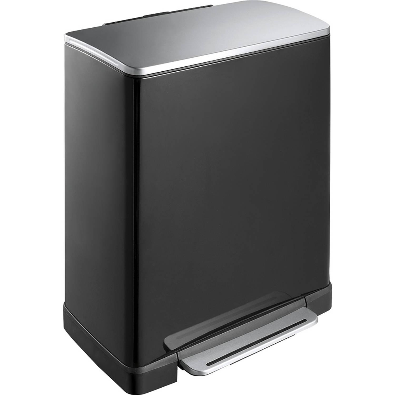 EKO E-Cube pedaalemmer 50L zwart