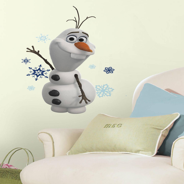 Disney Frozen Olaf De Sneeuwman Muursticker